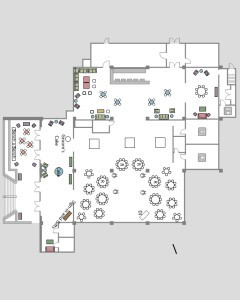 new orleans wedding the cannery floorplan