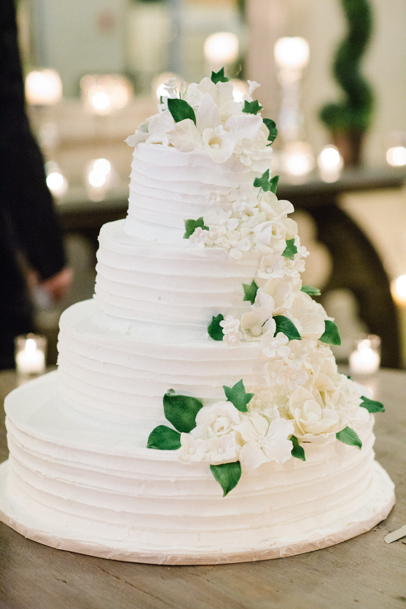 New Orleans wedding cake